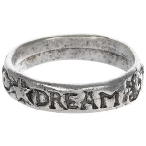 Jewelry - Dream Sterling Silver Plated Ring - Size 8